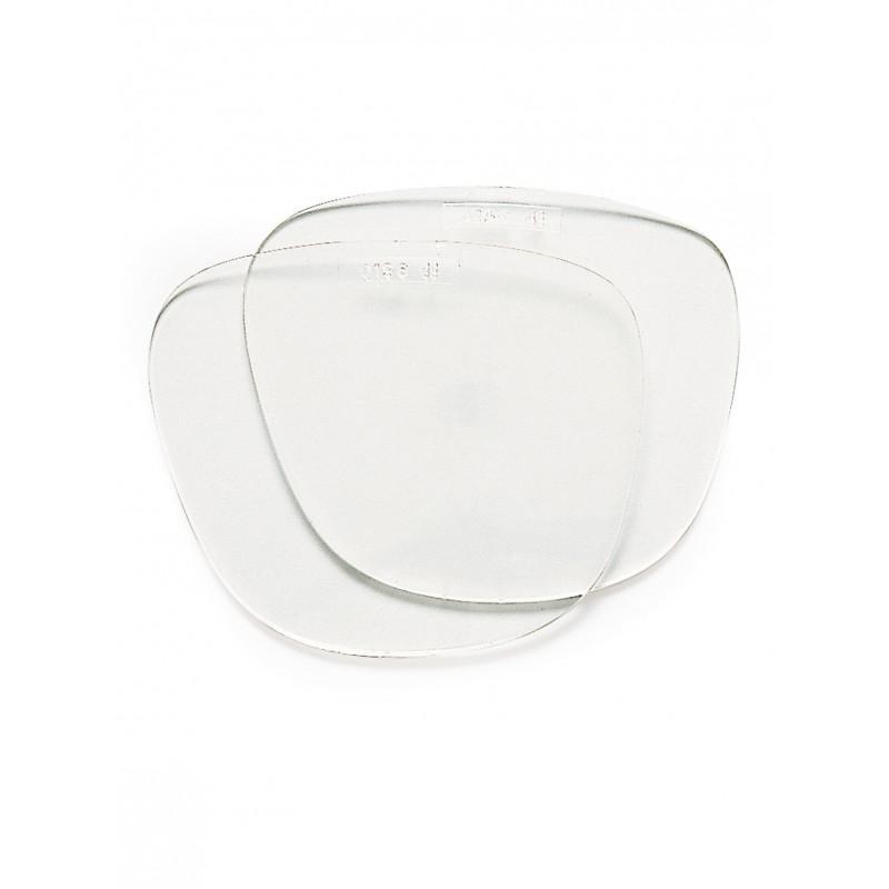 Oculaires incolores de rechange pour les lunettes EVA317. La paire.
