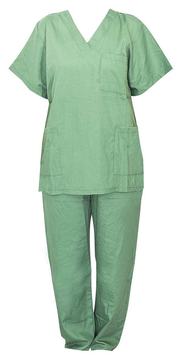Tablier vert infirmière