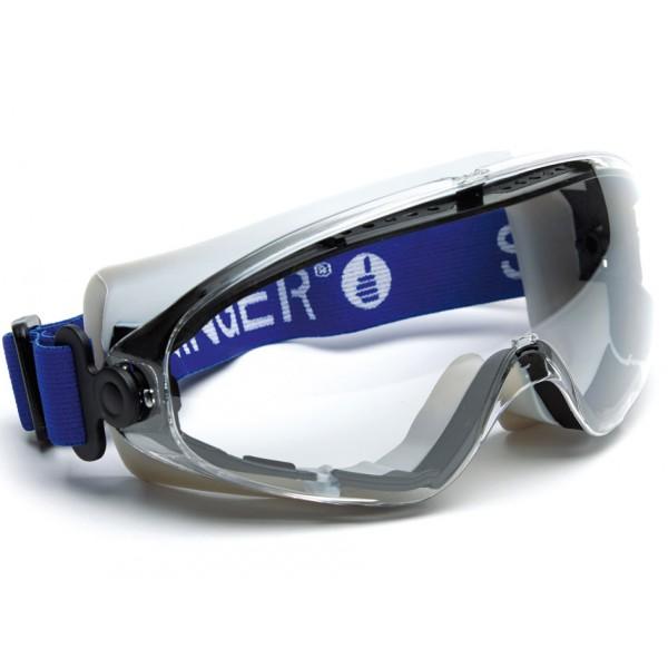 Lunettes masque de protection. Masque bi-matière