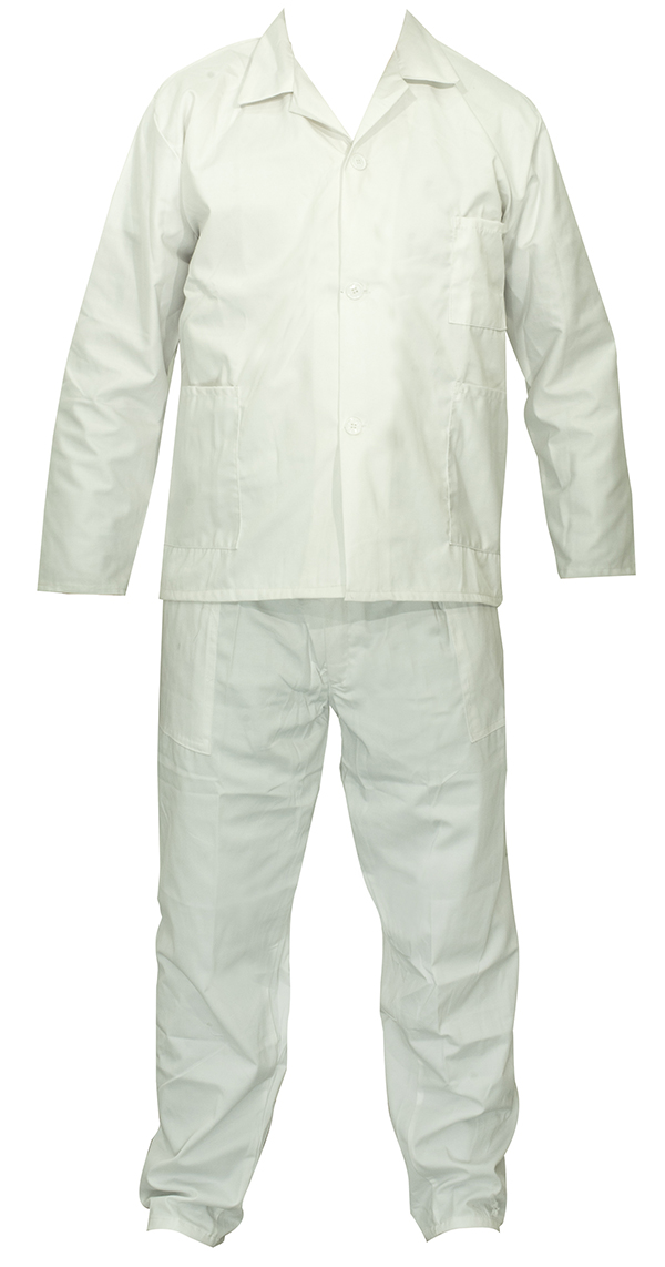 Tenue blanche homme